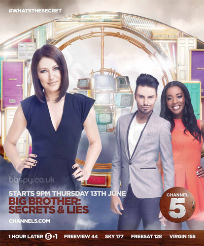 Big Brother 2013 Secrets And Lies press advert