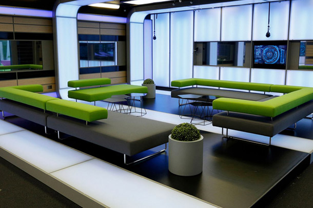 Big Brother 2014: Power Trip house - lounge