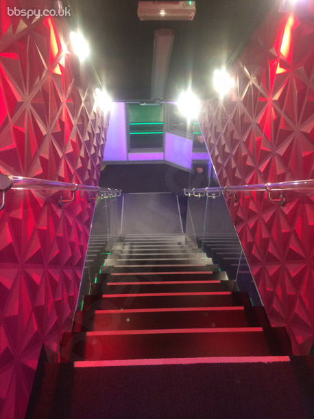 Big Brother 2014: Power Trip: bbspy exclusive house tour photo - entrance stairs