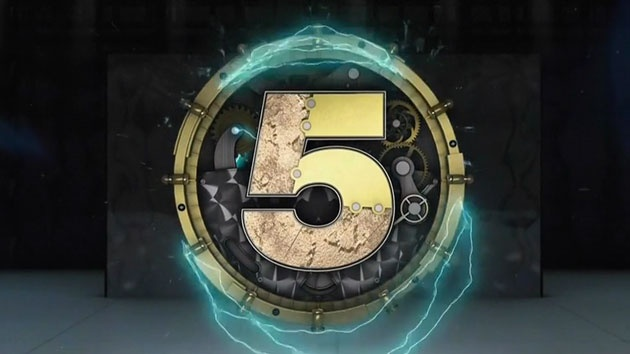 Channel 5 logo - Big Brother Timebomb