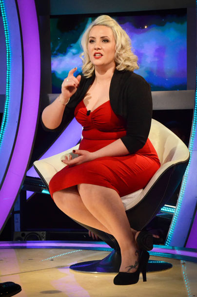 Celebrity Big Brother 2013 final - Claire Richards
