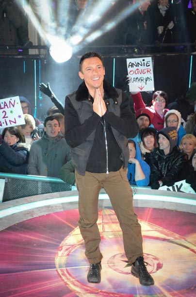 Celebrity Big Brother 2013 - Frankie Dettori evicted