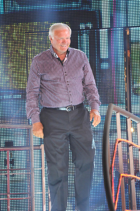 Celebrity Big Brother 12 summer 2013 - Ron Atkinson evicted
