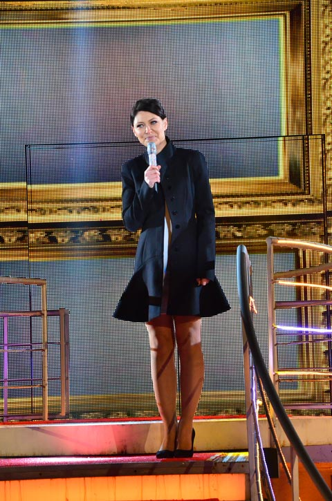 Celebrity Big Brother 13 January 2014 launch night - Emma Willis
