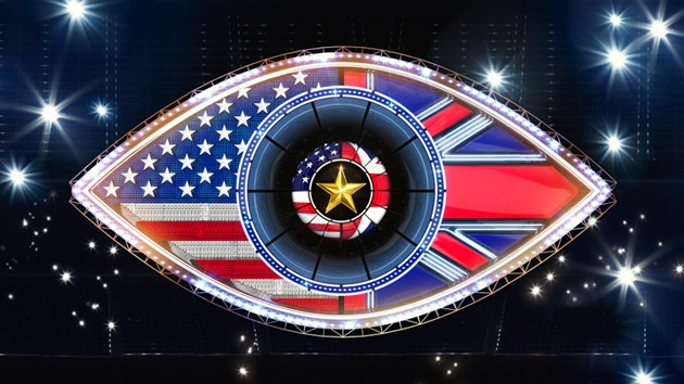 Celebrity Big Brother summer 2015 UK vs. USA eye logo