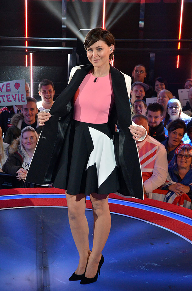 Celebrity Big Brother summer 2015 UK vs. USA final - Emma Willis